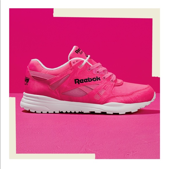 Reebok Shoes   Solar Pink Classic Neon